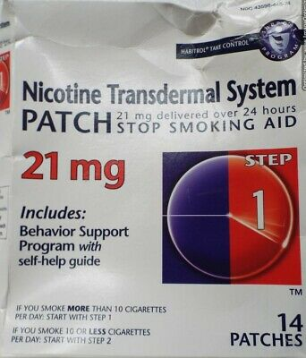 Habitrol Take Control Nicotine Transdermal System 21 mg - 14 Patches
