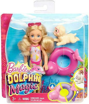 Barbie Dolphin Magic Chelsea Doll Brand New