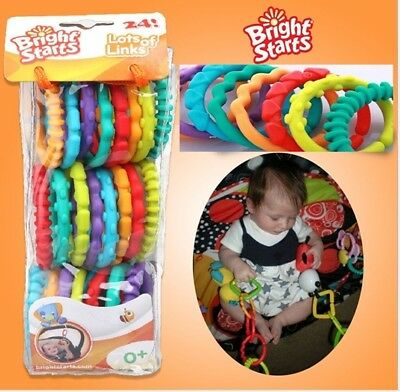 Bright Starts Lots of Links 24 Pack Activity Toys