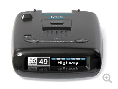 Escort X80 Radar detector with Bluetooth