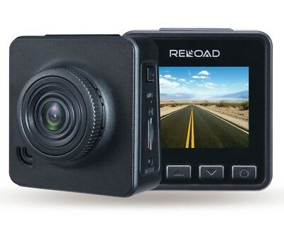 Reload Dual HD Dash Camera- Captures incidents in front and behind vehicle.