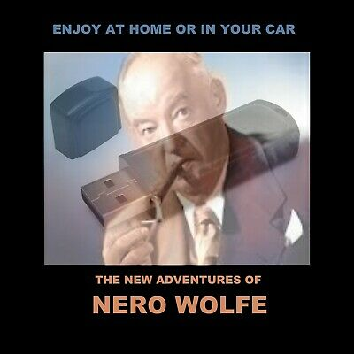 Nero Wolfe, The New Adv. Enjoy All 28 Old-Time Radio Shows In Your Car Or Home!