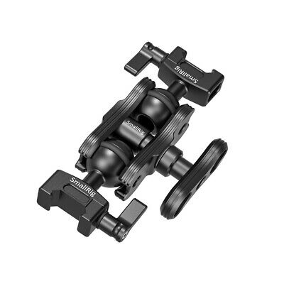 SmallRig Articulating Magic Arm with Double Ballhead NATO Clamps Monitor Mount