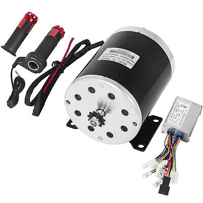 24v 500w DC Electric Motor& Switch &control &Throttle 26.7A Bicycle Go Kart