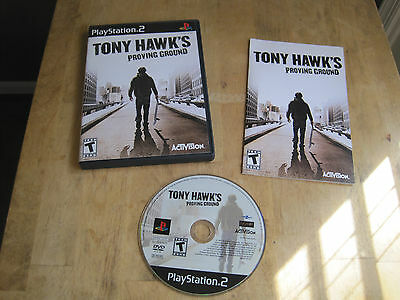 Tony Hawk's Proving Ground - Sony Playstation 2 PS2 - Game, Case, & Manual