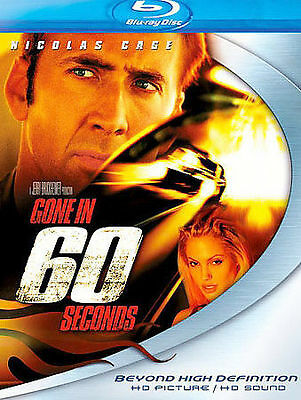 Gone in 60 Seconds (Blu-ray , 2006) Nicolas Cage, Angelina Jolie (NEW)
