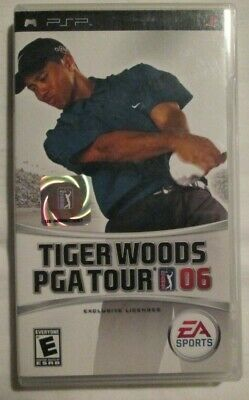 PSP Tiger Woods PGA Tour 06 (Manual, box and game)