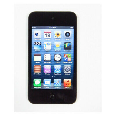 "Apple iPod touch 4th Generation 16GB Black Refurbished A1367 3.5"" LCD WIFI BB"