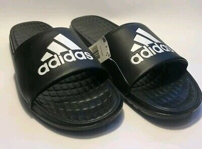 d5edee695 ADIDAS Voloomix Black White Men s Sandals CP9446-NEW WITH TAGS