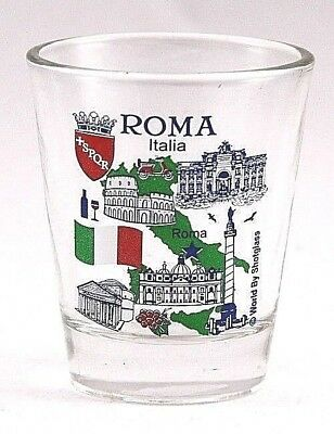 Rome Italy Great Italian Cities Collection Shot Glass Shotglass