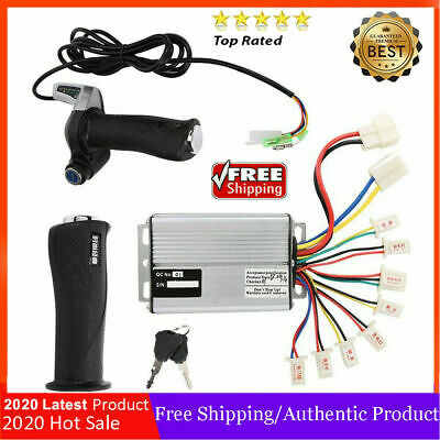 24/36/48V Electric Scooter Motor Brush Speed Controller For Vehicle Bicycle Bike