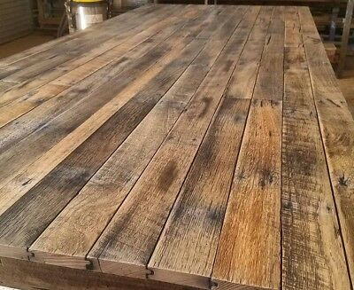 Recycled Timber Table Tops for Bars / Cafes / rustic contemporary / Aussie made