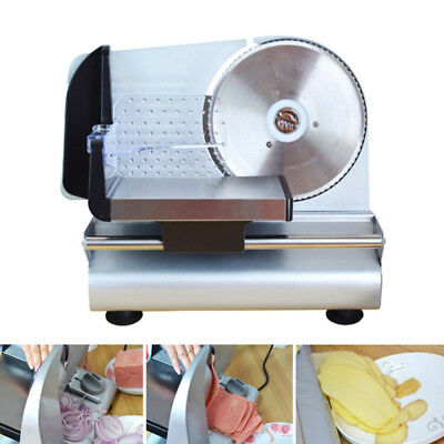 220V 150W Electric Meat Food Slicer Cheese Fruit Bread Vegetables Cutter 0-15mm