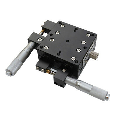 XY Axis Trimming Station Displacement Platform Linear Stage Sliding Table 60mm