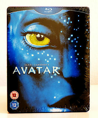 Avatar (Limited Edition Blu-Ray Steelbook with Survival Guide/Art Cards) OOP
