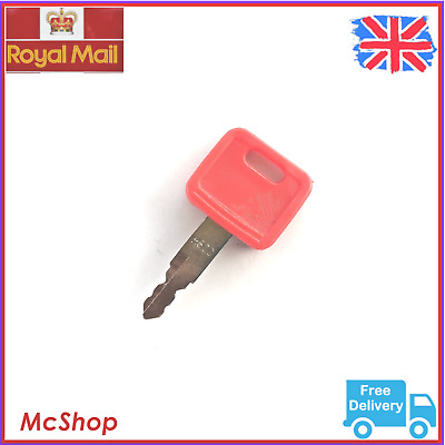 H800 Red Heavy Equipment Ignition Key for Hitachi Excavator Digger Plant