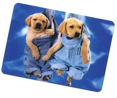 Swap / Playing Card ~ Overall  Dogs   ~ Modern Wide ~ Linen