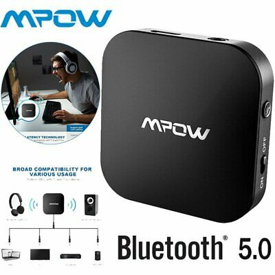 Mpow Bluetooth 5.0 Wireless Transmitter Receiver Audio Optical Adapter for TV AU