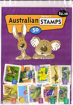 Bulk Lot Postage Stamps 50 pack - Australian- Kick start a collection