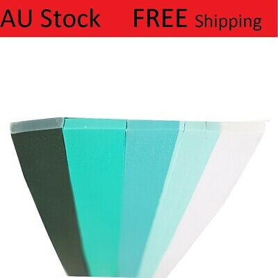 New 500 Strips 3mm Quilling Paper 110GSM  Turquoise family pack