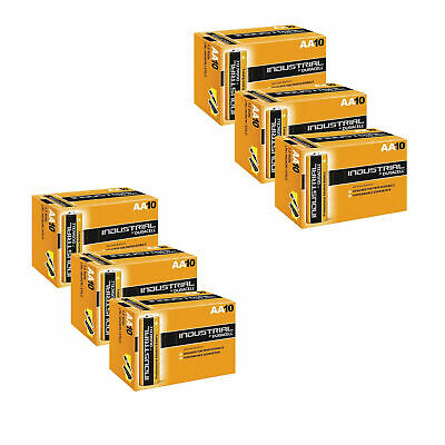 60 Duracell Industrial Aa Alkaline Batteries Replaces Procell Mn1500 1.5V Lr6