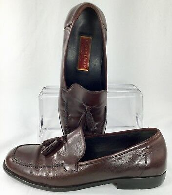 78aa5b5ae17 Cole Haan Dwight Tassel Loafer Men Sz 10.5 D Brown City Slip On Dress Shoe  Italy
