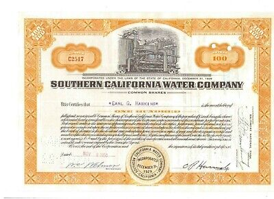 Southern California Water Company  1950