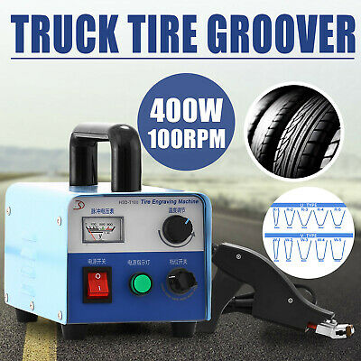 400W Truck Tire Grooving Blades Groover Iron Re-Groover Instant-On Siper Kit