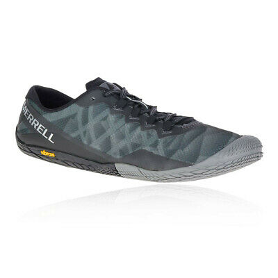 Merrell Mens Vapor Glove 3 Trail Running Shoes Trainers Sneakers Grey Sports