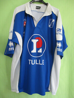 Maillot Rugby SCT Tulle Manche Longue Vintage Jersey Bleu - XXL