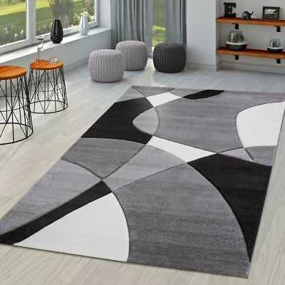 Modern Rug Small Extra Large Mat Abstract Geometric Home Rugs Grey Floor Mats