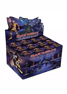 1 x Iron Maiden Legacy of the Beast Wave 1 Limited Edition Blind Box Of 12