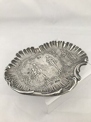 Solid Silver Victorian Jewellery Tray 1895 London Import