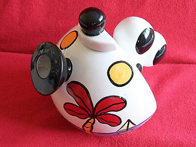 ** Classy Vibrant Lorna Bailey Large Tropicana Teapot** * Excellent Condition *