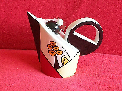 ** Classy Vibrant Lorna Bailey Poolfields Teapot ** ** Excellent Condition **