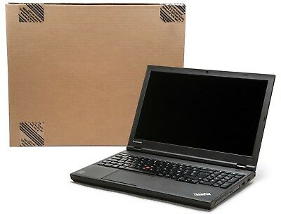 LENOVO THINKPAD LAPTOP W540 i7-4600M 2 9GHz 8GB RAM 500GB