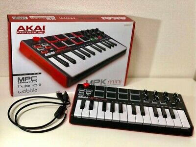AKAI Professional MPK Mini MK2 MIDI Keyboard Controller AP-CON-026 New Japan