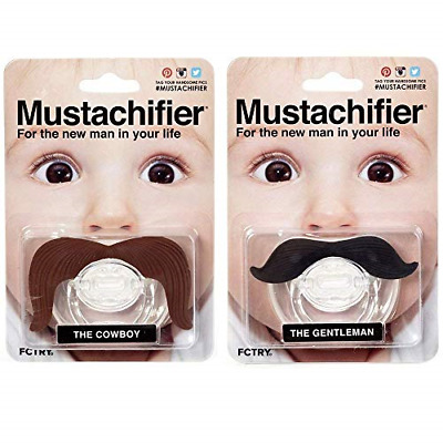 ce7d4b212bf Hipsterkid BPA Free Mustachifier for Kids 0-48 Months in Double Trouble
