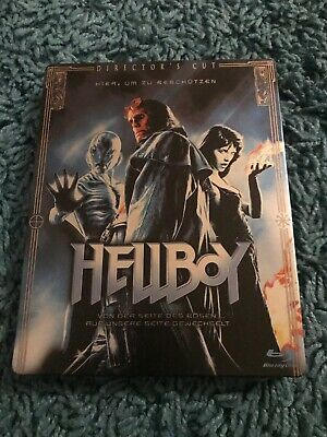 Hellboy Blu Ray Steelbook Sci Fi Action Comic Adaptation Uk Release