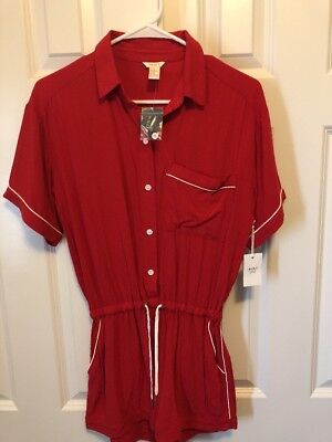 0ae88eb6343c ATHLETA CROSSBACK ROMPER Shortie Size XS   New With Tags   -  15.00 ...