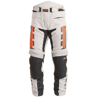 RST Pro Series Paragon V 5 CE Motorcycle Motorbike Textile Jeans Pants Silver 34