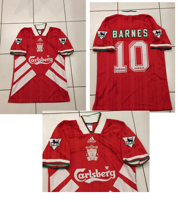 d5cdb8c0a Liverpool 1993 1994 1995 Home RETRO Football Shirt NEW JOHN BARNES 10 SMALL  RETR