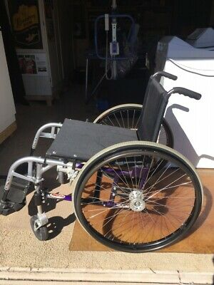 Mobility Plus Equaliser Aluminium Wheelchair As New Cost $3000