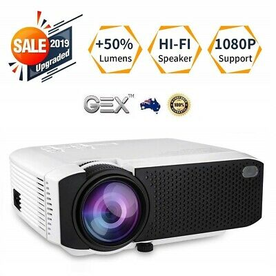 Full HD Wifi Smart Android Projector HD 1080P HDMI Media Home Cinema Theater