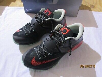 87a5bfae044c NIKE KD 7 VII EP Good Apple Yeezy Black Red-Medium Mint Kevin Durant ...