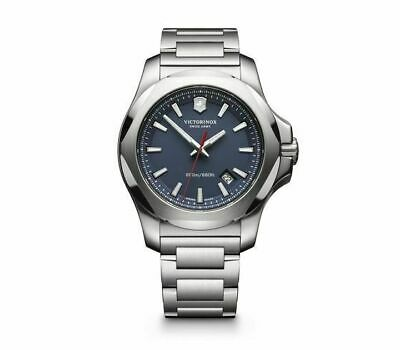 New Victorinox Pro Diver INOX Stainless Steel Blue Dial Men's Watch 241724.1