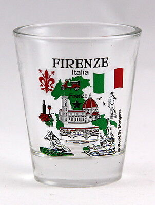 Florence (Firenze) Italy Great Italian Cities Collection Shot Glass Shotglass