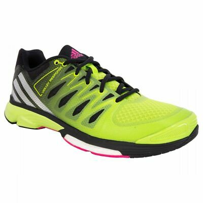 d537422321f1 adidas Response Boost 2.0 Womens Training Shoes - Blk NEON Green  NEW w