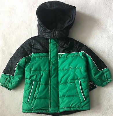 76dca6fdc45d IXTREME TODDLER BOYS  Colorblock Active Puffer Snow Jacket - NAVY ...