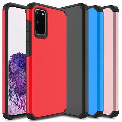 For Samsung Galaxy S10+ Plus S10e Armor Shockproof Hybrid Rubber Hard Case Cover